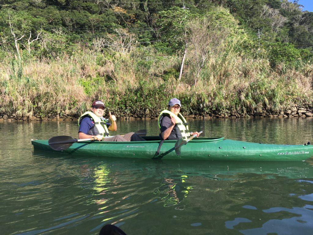 2人乗りカヌー