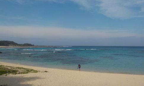 奄美の美しい海