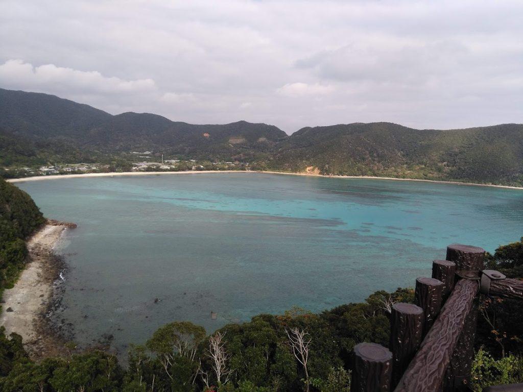 マネン崎展望台から望む