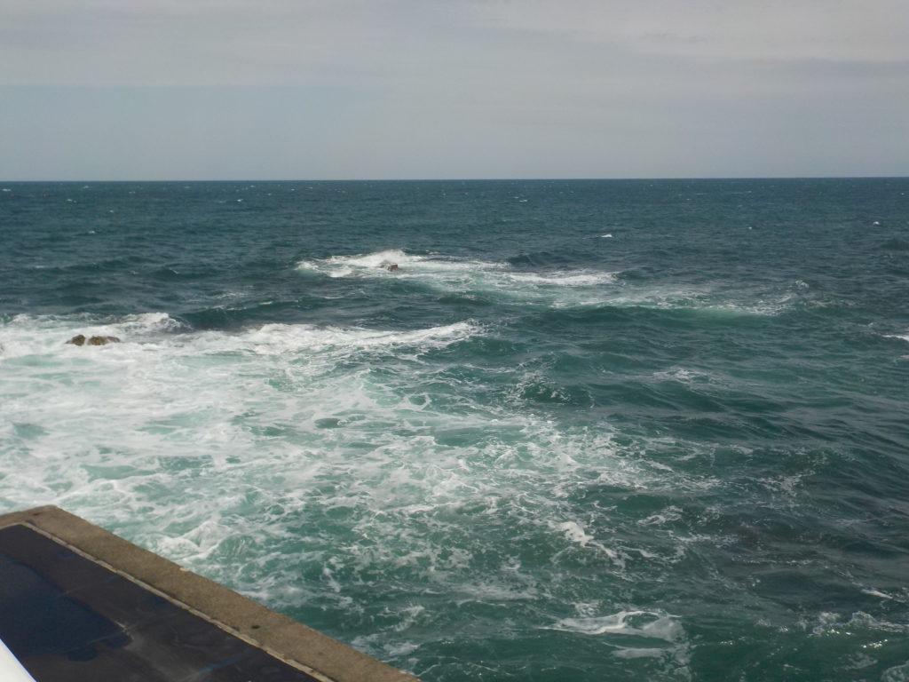 マリンドリーム能生敷地内から見る日本海