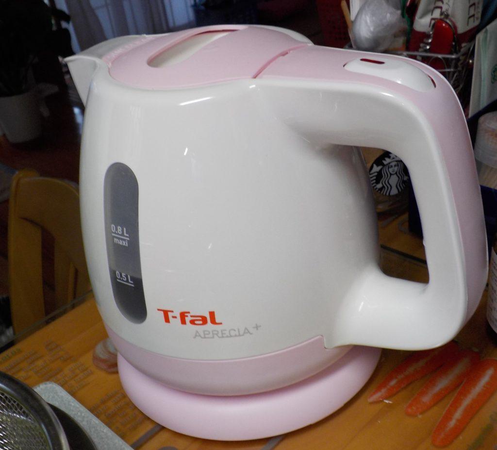 ティファールでお湯を沸かす