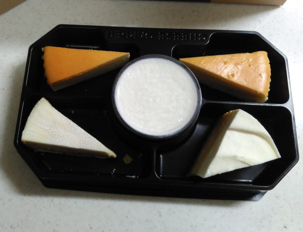チーズケーキ色々セット