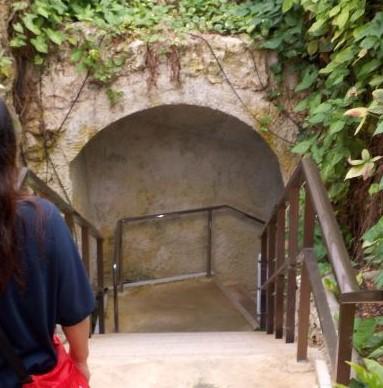鍾乳洞入口