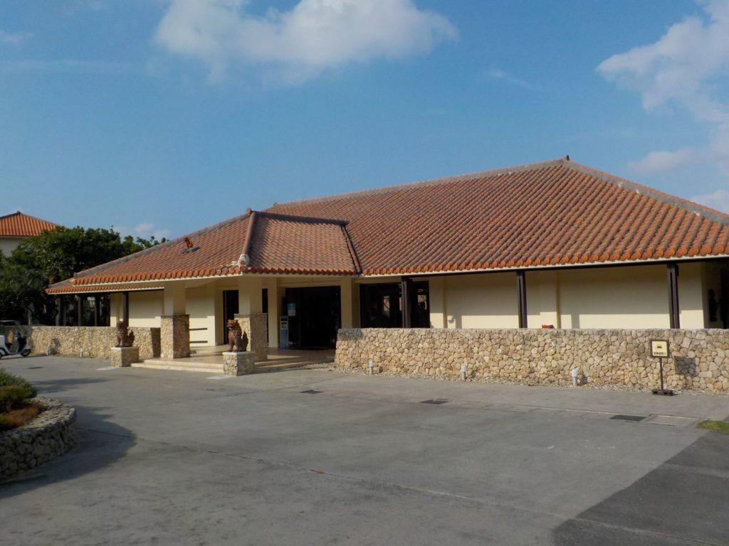 クラブメッド石垣島受付建物
