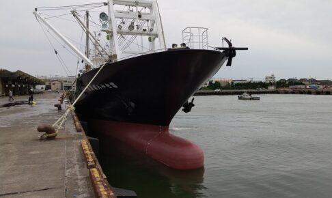 銚子の漁船